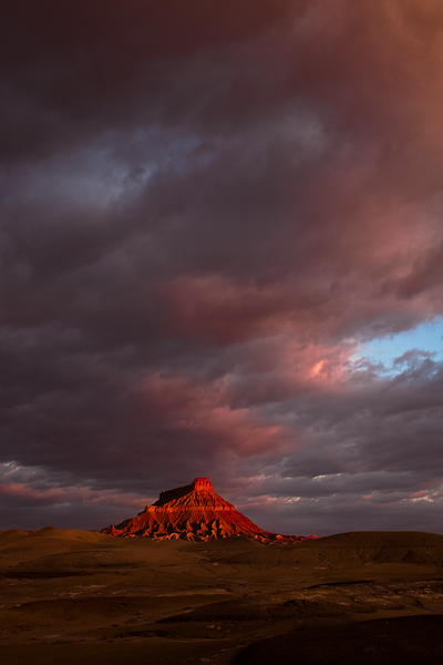 Factory Butte, Sunrise #3