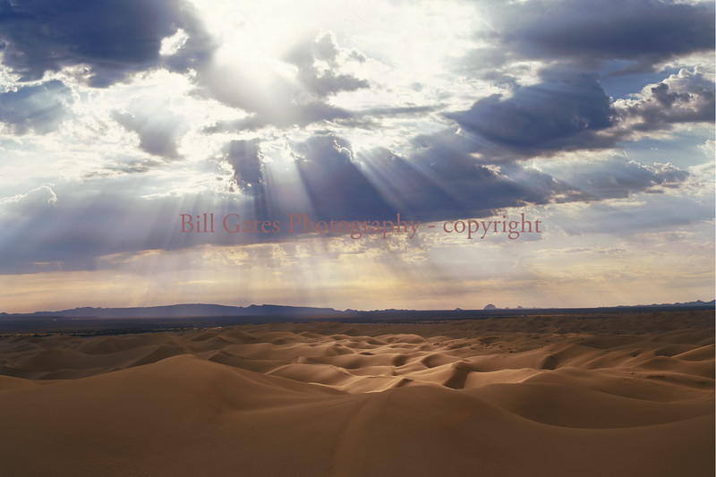"""Heavenly Light"" Glamis Dunes"