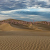 Morning Sunrise at Glamis Sand Dunes - View from Overlook parking area