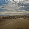 """Sand Waves - Glamis Sand Dune"" - sunrise skipping over the sand dunes"