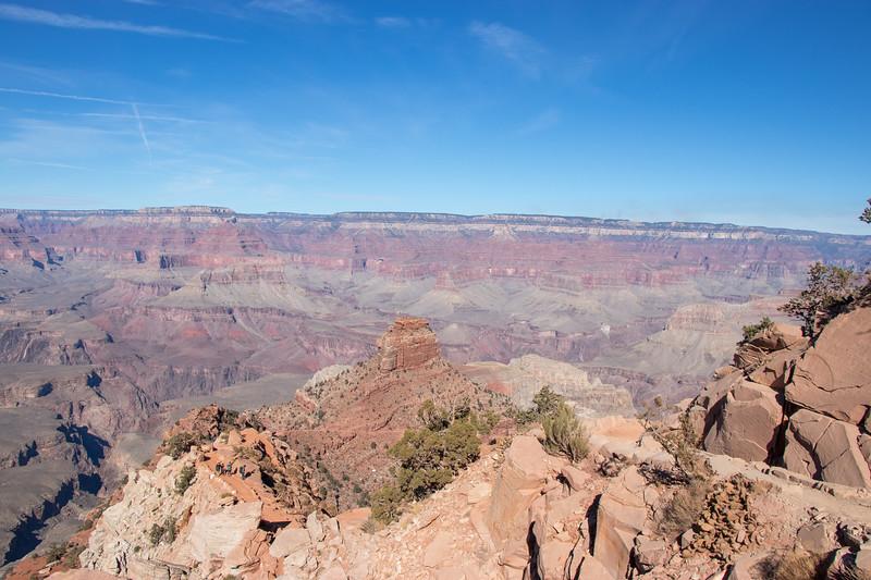 Descending Into The Grand Canyon