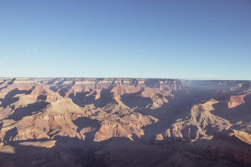 Light & Shadows Over Grand Canyon