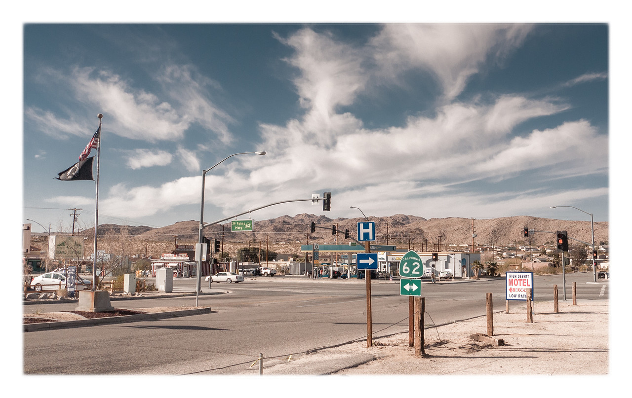 The town of Joshua Tree has a very laid back vibe with some cool shops and art galleries.