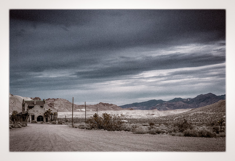 It is one of the most photographed ghost towns in the West. It is the first ghost town that I have ever photographed!