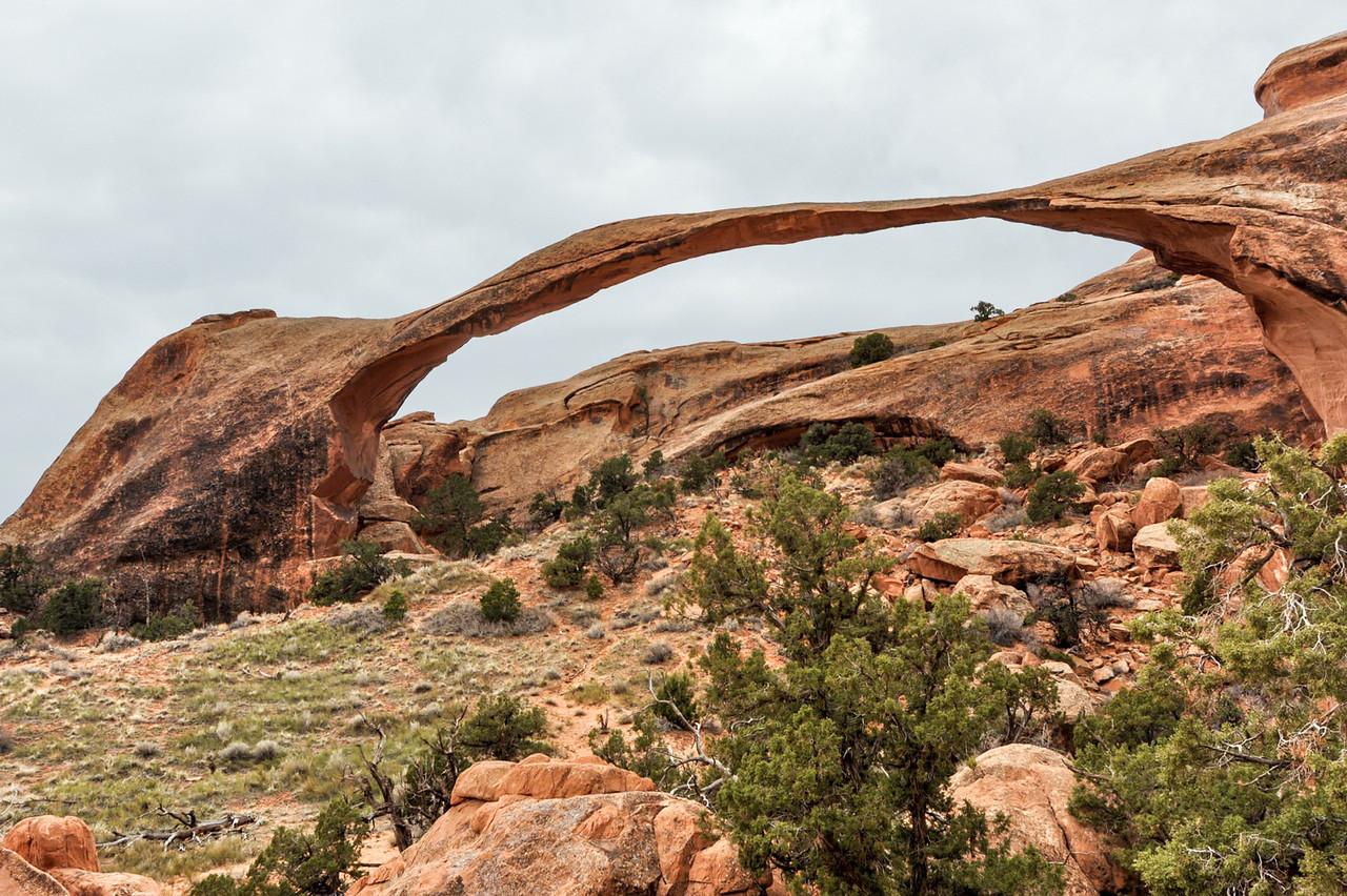 Landscape Arch, Arches national Park, Utah, USA