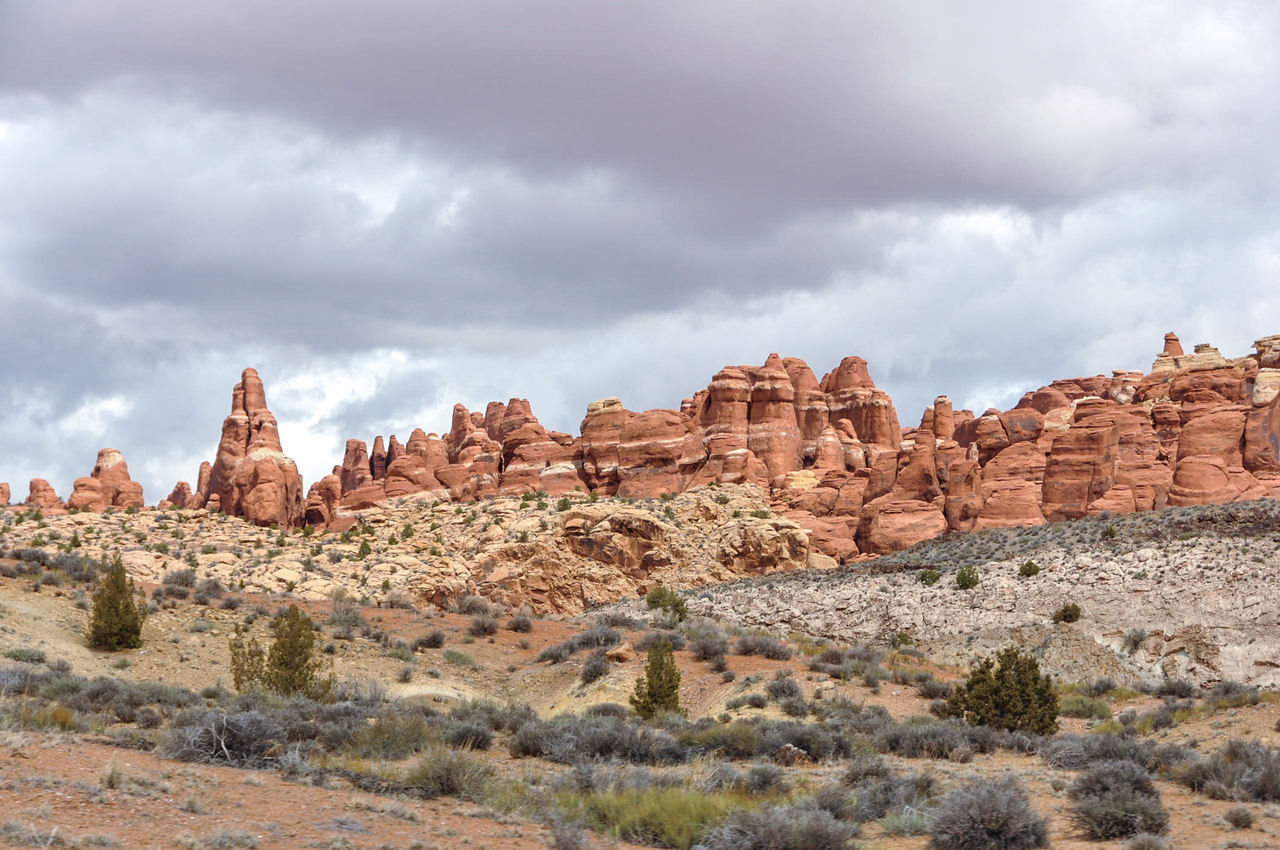 Firey Furnace, Arches National Park, Moab, Utah, USA