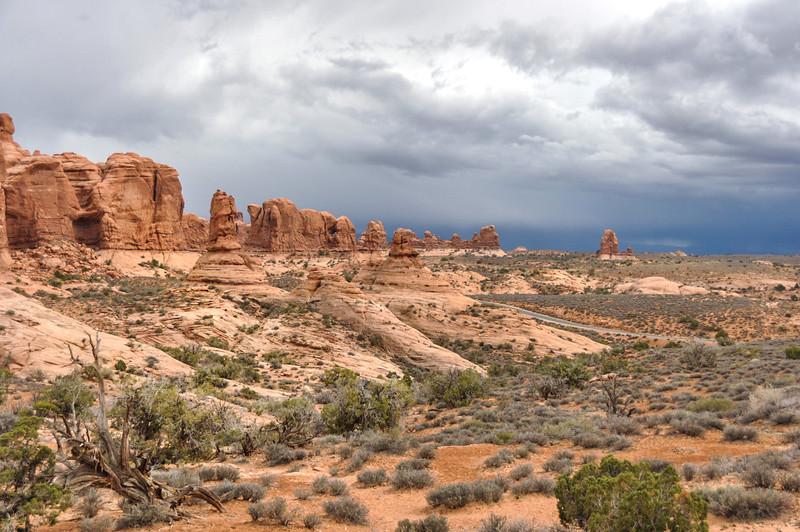 Skyline Arch, Arches National Park, Moab, Utah, USA