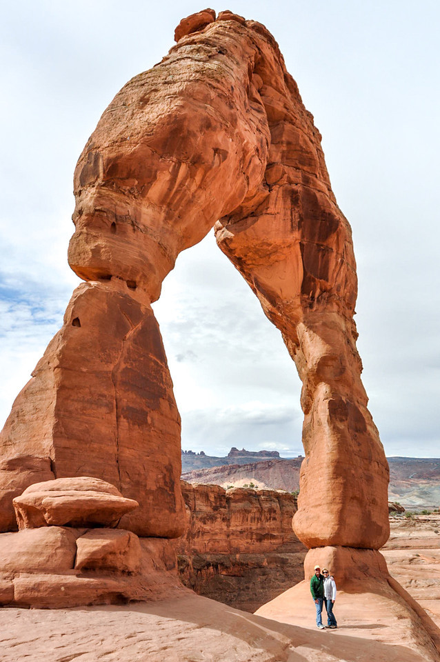 Hike to Delicate Arch, Arches national Park, Moab, Utah