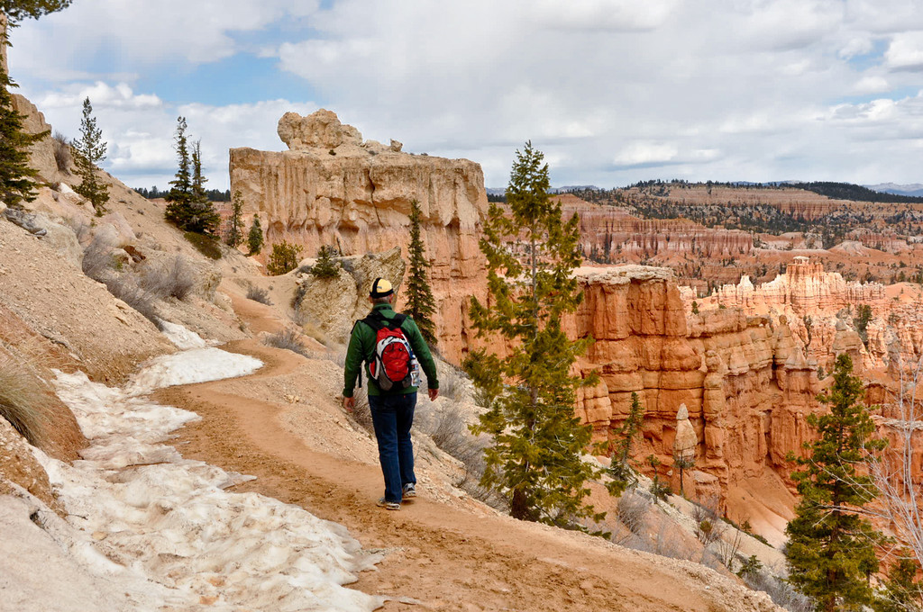 Bryce Canyon, Utah, on the Peek a Boo Trail