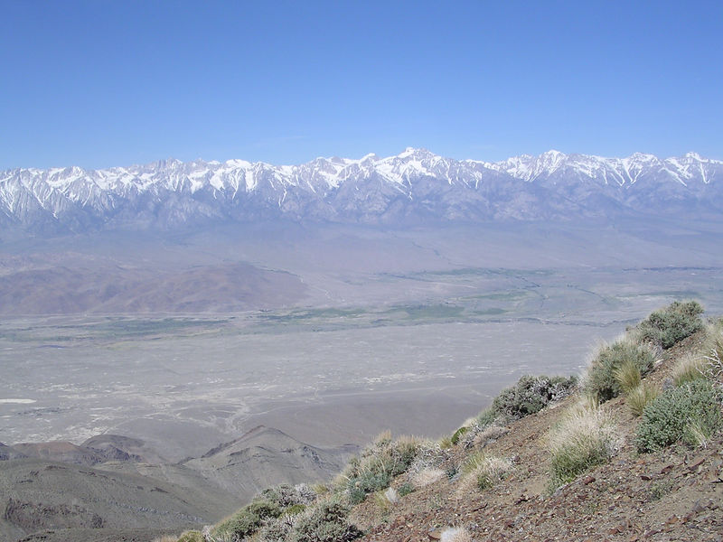 Owens Valley and High Sierra.