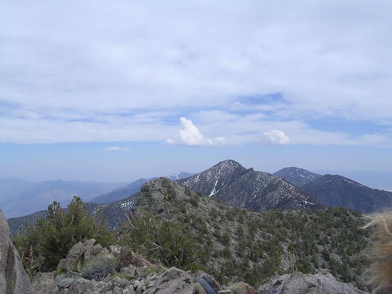 Keynot Peak and Telescope Peak to the left.