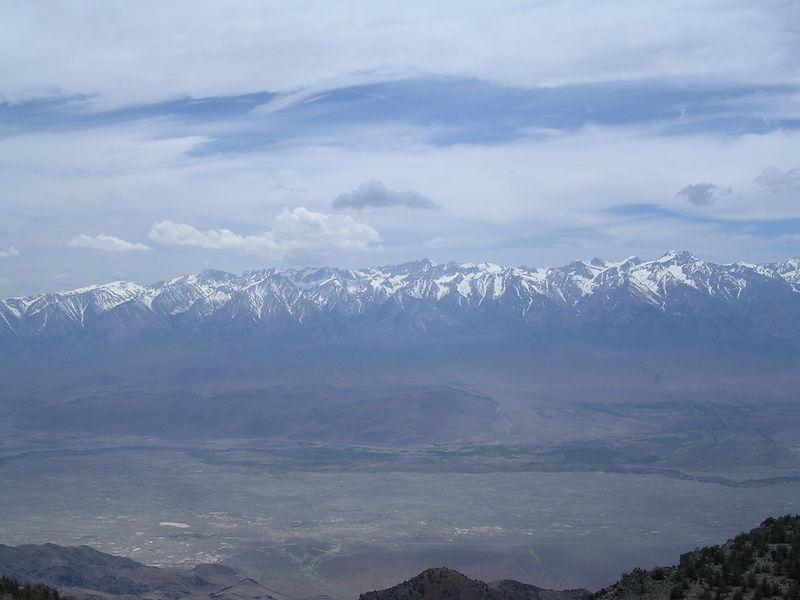 High Sierra as we near the summit of Inyo Peak.
