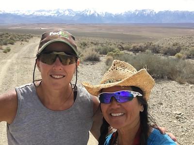 2016-04-03  Walk around the dirt roads behind Stacy's back yard.  Bishop, CA