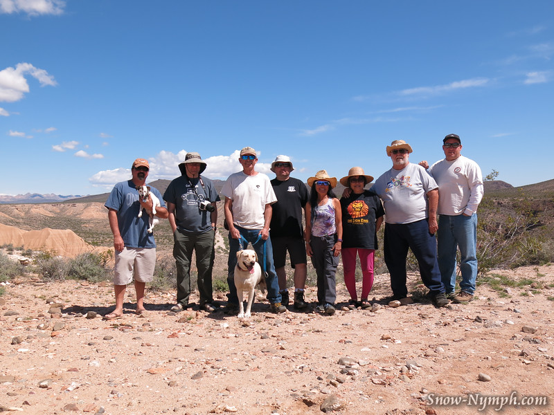Apr 29, 2016   Piute Gorge Trail - Chris & Jill, Eric (BadTux), Larry & Sabrina, Chris (B-Spec), Cori (Snow Nymph), Ping, Steve, Rob (Slacker)
