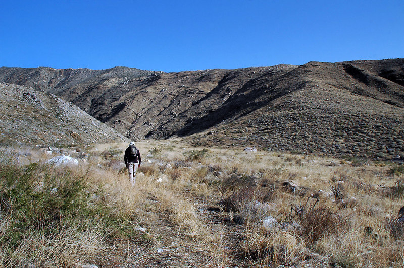 The first part of the hike was on the remains of an old mining road.
