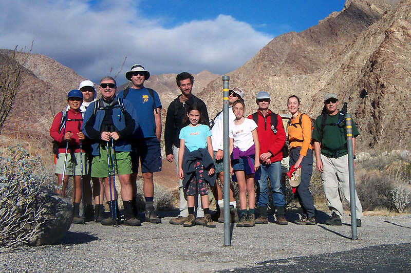 The next morning a group of us decided to try hiking up Indian Head Peak. The hike started from the campground which is at about 750 feet. Juliet, Bruce, Ron, Ray, Jay, Alyssa, Tone, Janae, Gary, Colleen and me, Joe.