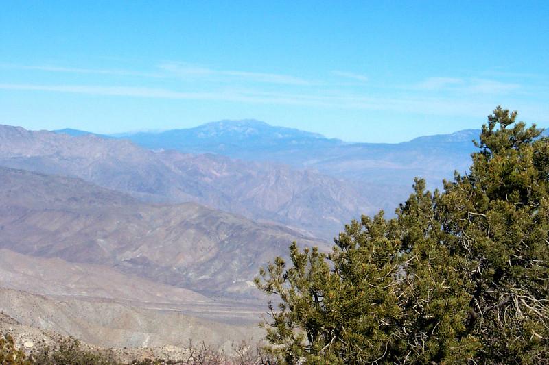 San Jacinto Peak to the north.