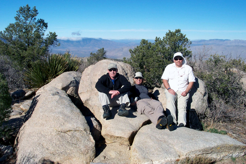 Group shot on the summit of Whale Peak at 5,349 feet.