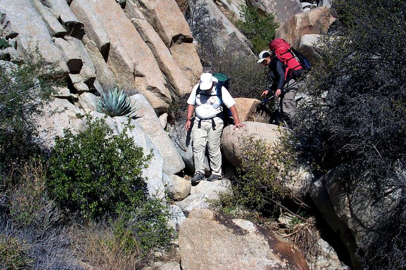 Back in Smuggler Canyon.