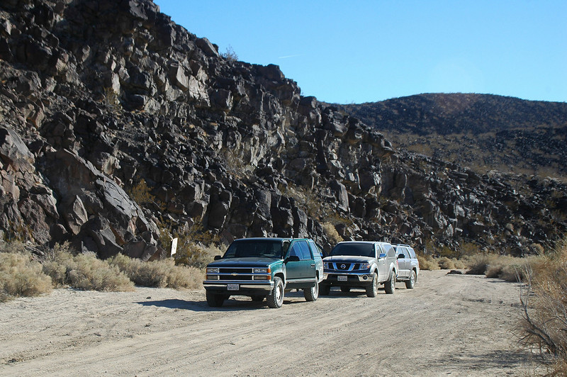 We stopped in Black Canyon to check out the petroglyphs.