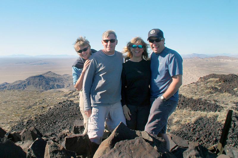 Group shot on Black Mountain.