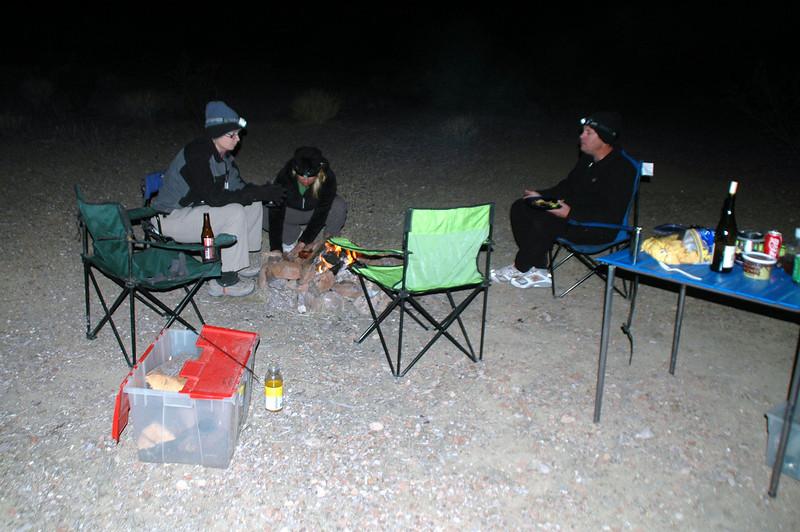 We camped near Opal Mountain.
