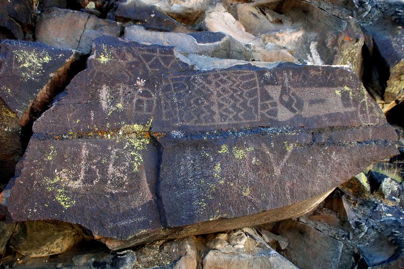 More petroglyphs.