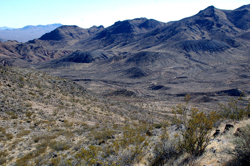 Looking back at the starting point of the hike which is in the center of the photo.