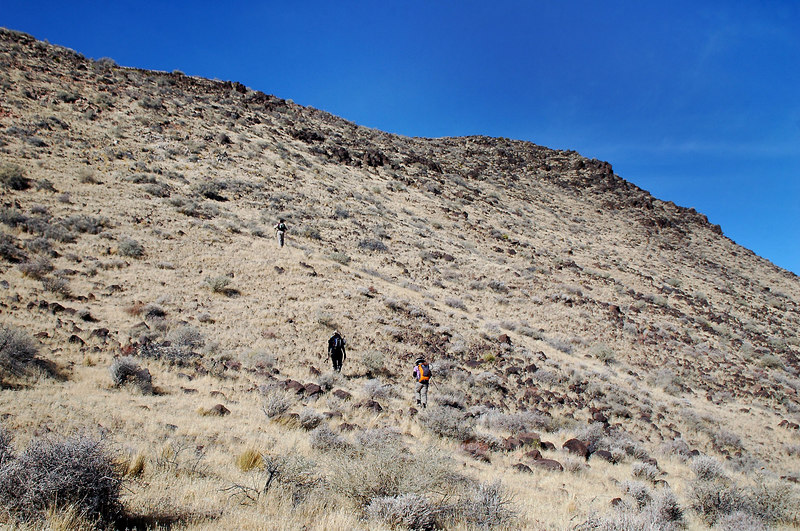 This last section that leads to the peak was the steepest part of the hike.