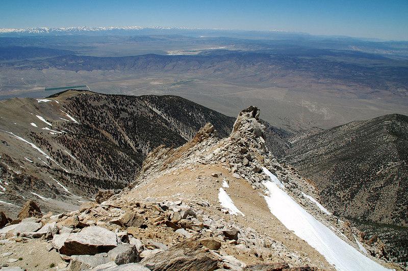 View to the west towards Mono Lake.
