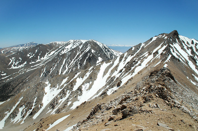 White Mountain, the peak on the left.