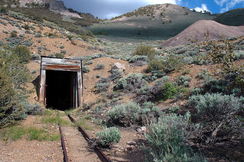 The Queen Mine tunnel.