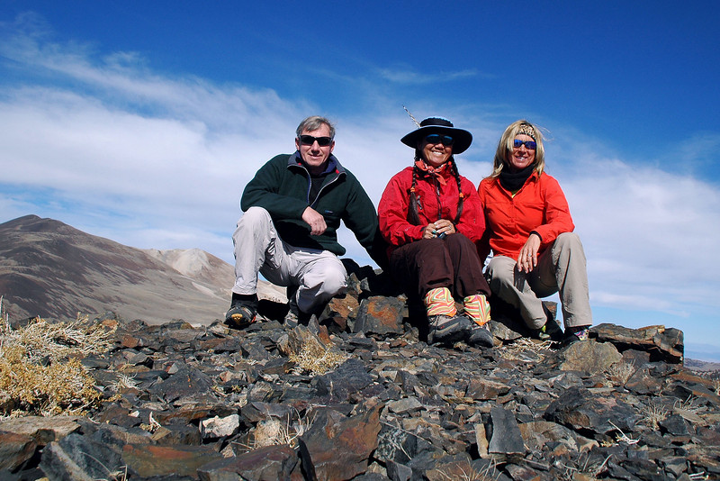 On Campito Mountain at 11,543 feet.