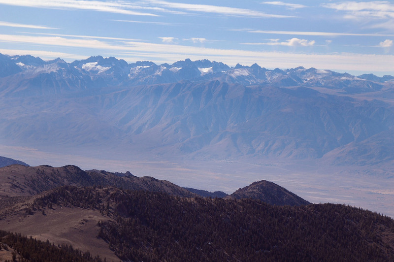 Another view of the Sierra Mountains.