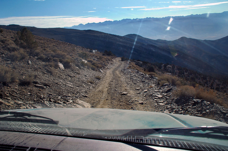 We decided to drive down the Silver Canyon 4X4 road.