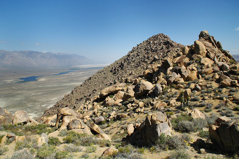 There were a few false summits before reaching the peak.