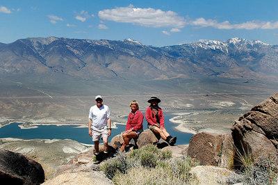 Centennial Canyon, Jurassic & Scattered Bones Peaks 5/5/06 & 5/6/06