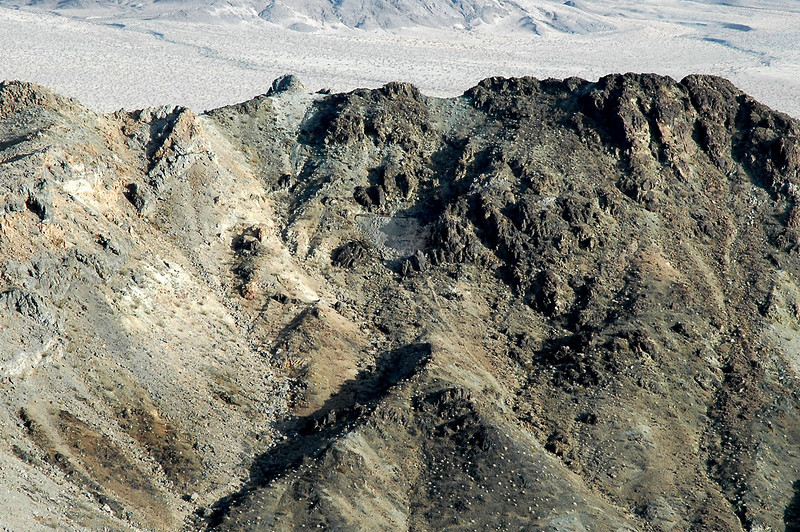 The Brannigan Mine can be seen near the center of the photo.