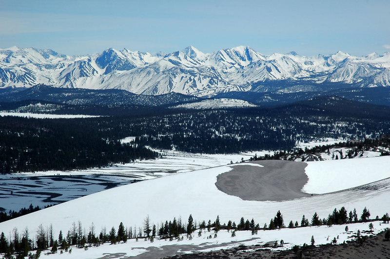 Sierra peaks to the south.