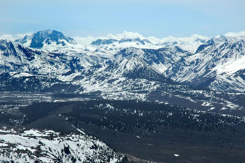 More Sierra peaks to the west.