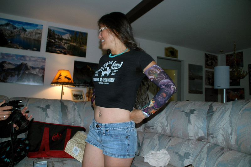 Cori modeling her new belly botton ring. Happy to be able to share Cori's birthday weekend with her.<br /> <br /> THE END