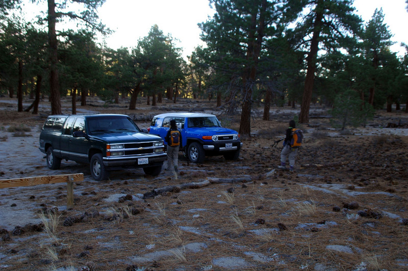 Back at the trailhead. This was a really fun hike with great views.