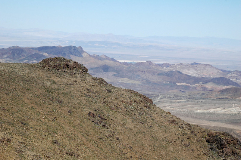 Daggett Ridge to the north.