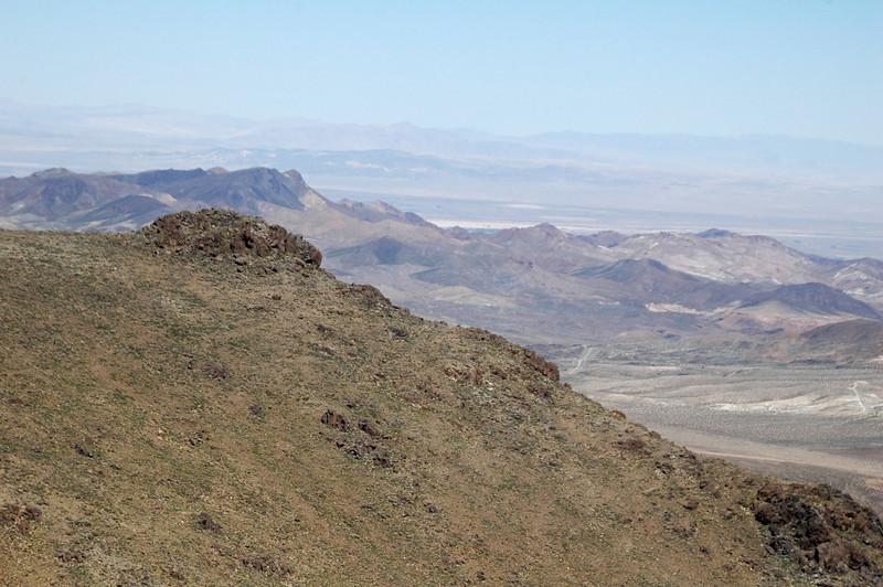 Daggett Ridge to the north.
