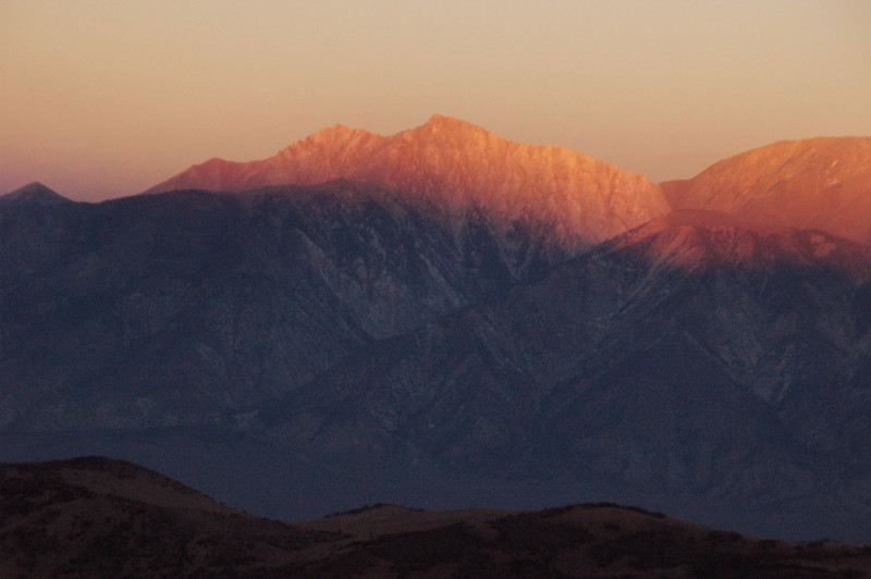 Boundary and Montgomery Peaks in the fading light.