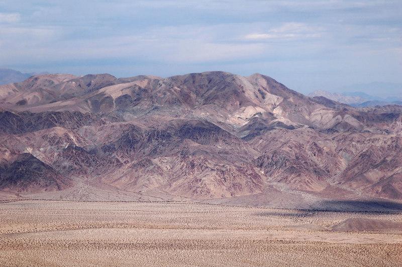 Zoomed in on Pinto Peak.