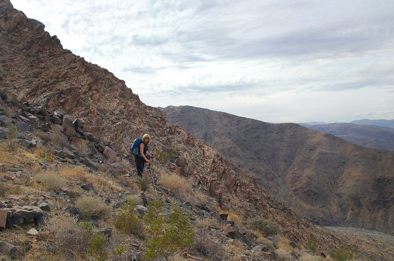 This was the steepest section of the hike.