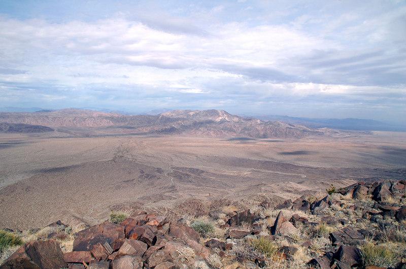 Pinto Peak to the north.