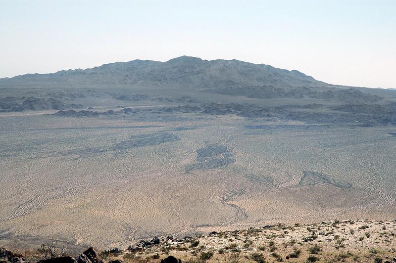 Zoomed in on Eagel Mountain.