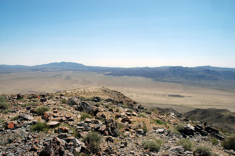 Looking at Eagel and Monument Mountains to the south.